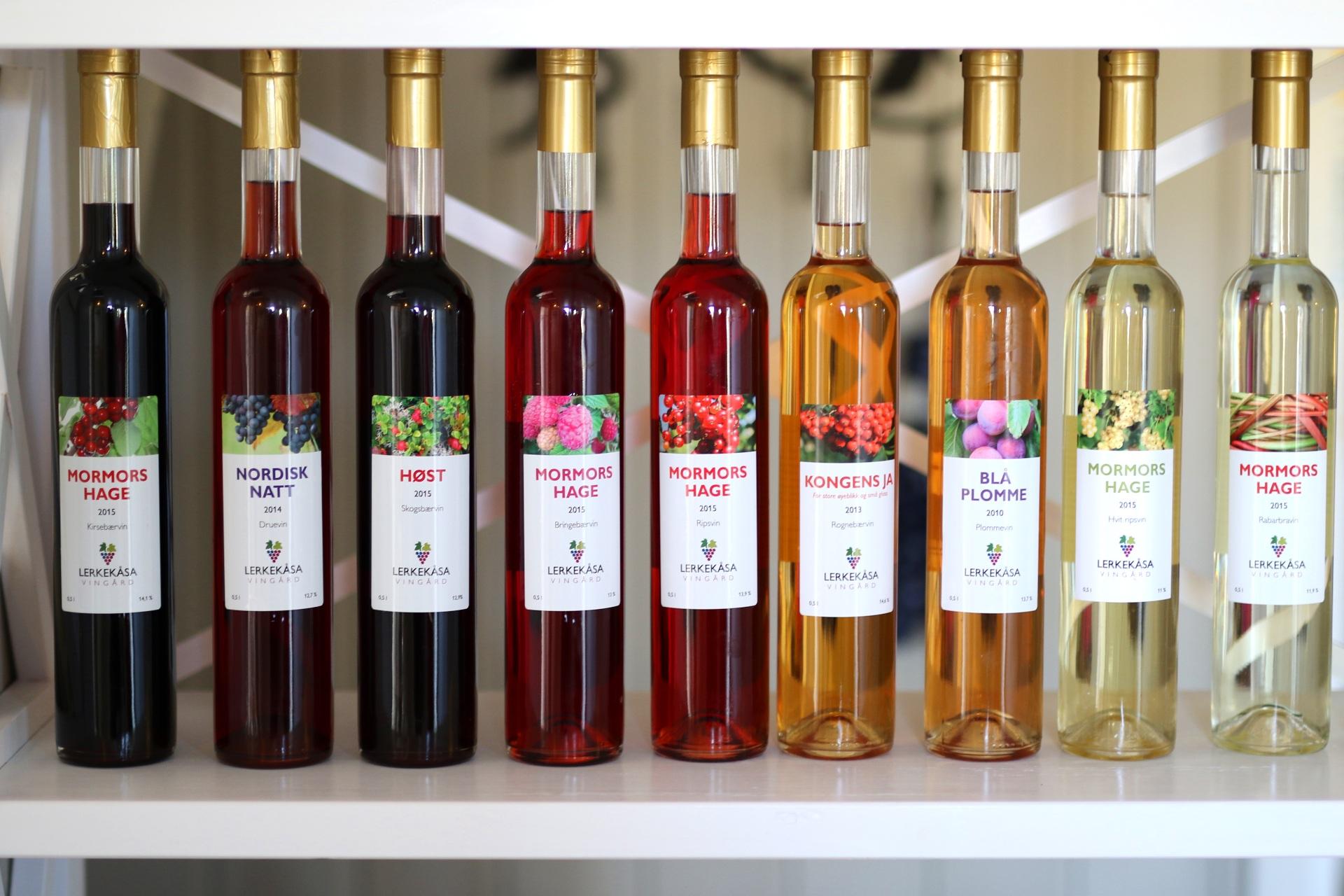 Vinflasker