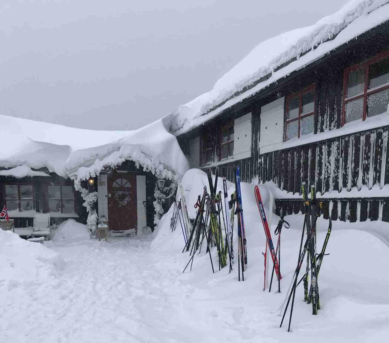Snø på Lifjell