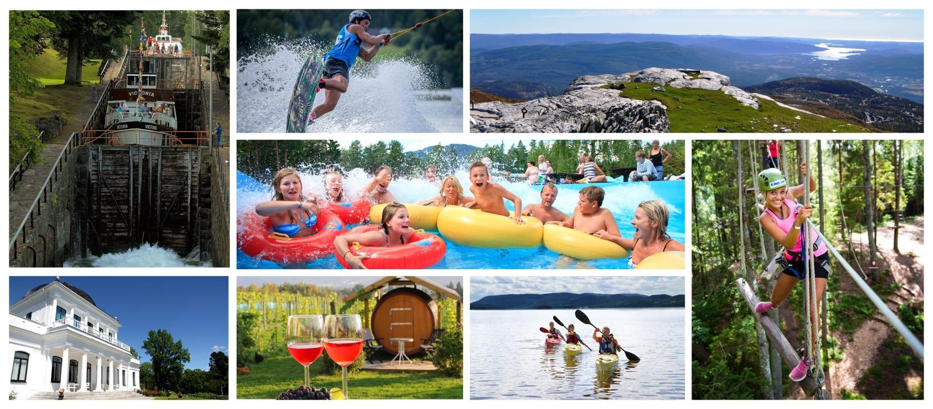 Ulike aktiviteter midt i Telemark