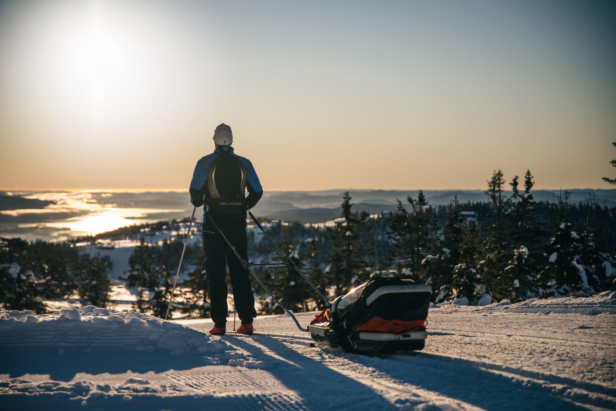 Utsikt fra Lifjell