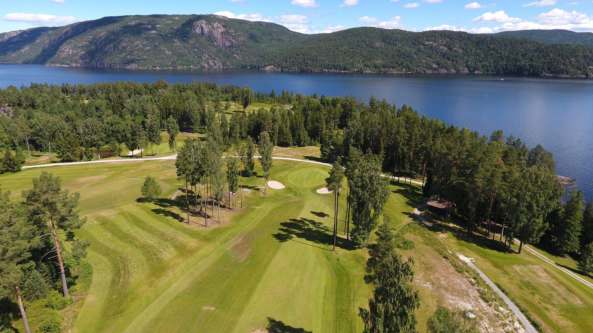 Oversiktsbilde golfpark