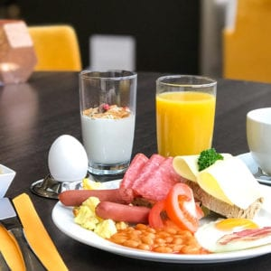 Frokost på Bø Hotell