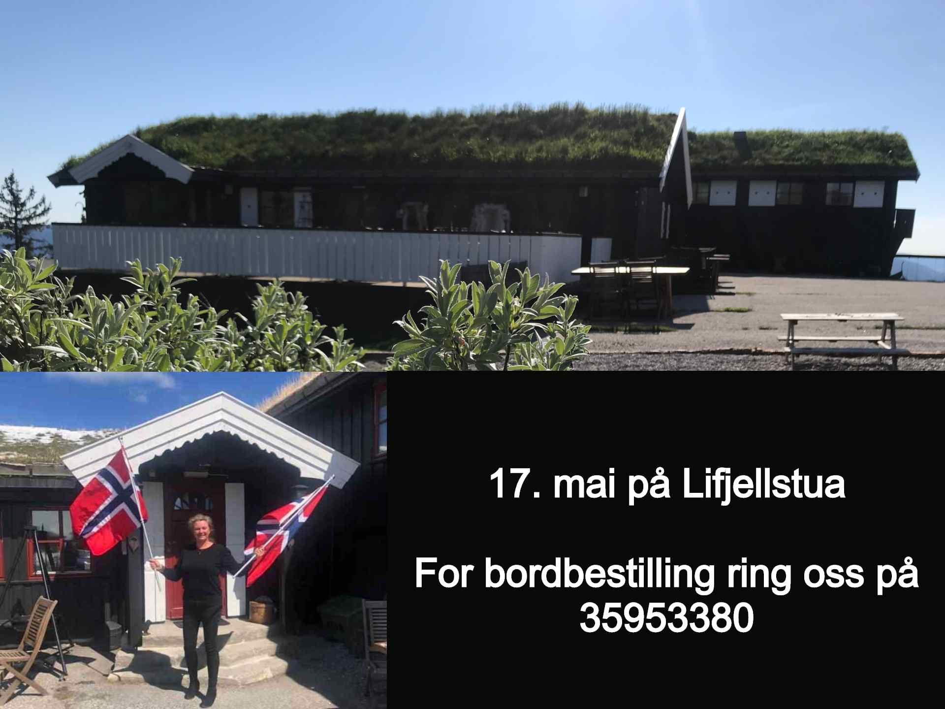 17 mai på Lifjellstua