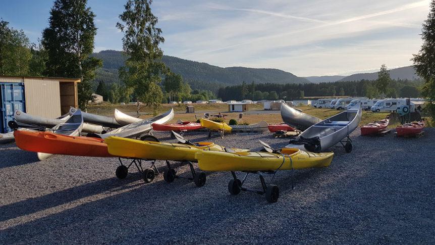 Kajakker og kanoer