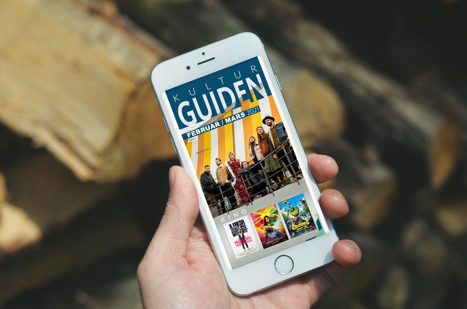 Kulturguiden på mobil