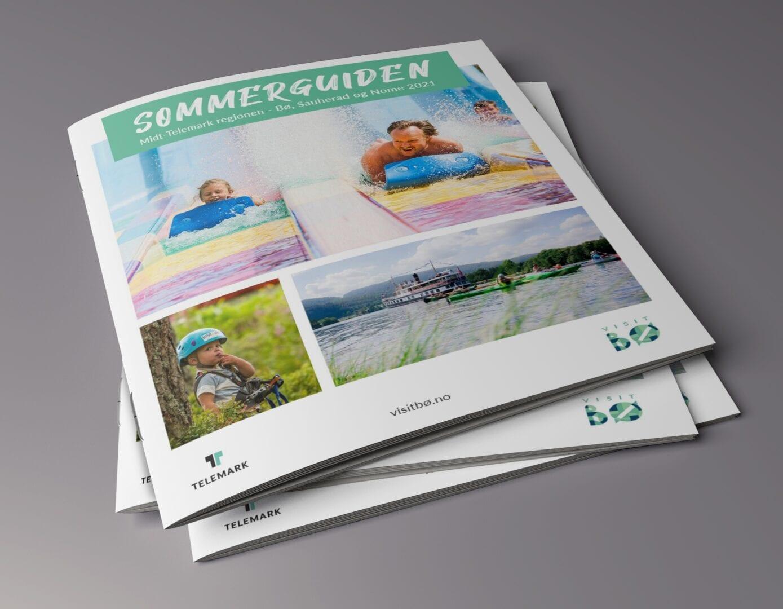 Bilde av brosjyrer