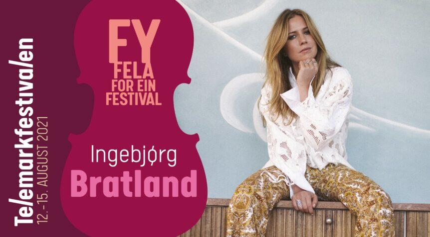 Ingebjørg Bratland på Telemarksfestivalen plakat